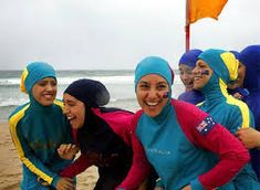 French Police Force Woman to Publicly Remove Her Burkini on the Beach in the Name of 'Good Morals'. Muslim Swimwear, Good Morals, Maternity Jeans, Muslim Women, Hijab Fashion, Swimsuits, Beach, Tips