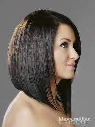 long angled bob haircut back view - Google Search