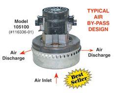 Lamb Vacuum Motor Replacement - 116336-01 - Dultmeier Sales