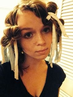 Rag Curls How To & Social Media Easy overnight heatless curls!