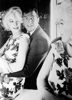 "audreyandmarilyn: "" Marilyn Monroe and Dean Martin on set; Something's Got To Give, "" Dean Martin y Marilyn Monroe durante el rodaje de ""Something's Got To Give"", 1962 Dean Martin, James Dean, Jane Russell, Tony Curtis, Brigitte Bardot, Vintage Hollywood, Classic Hollywood, Marilyn Monroe 1962, Howard Hughes"