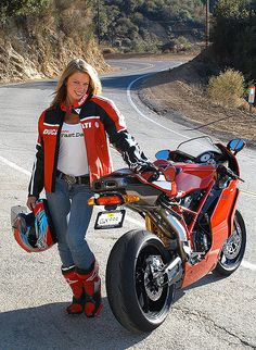 Ducati Girl  by tobass, via Flickr