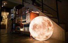 How To Make Your Own Moon Lamp