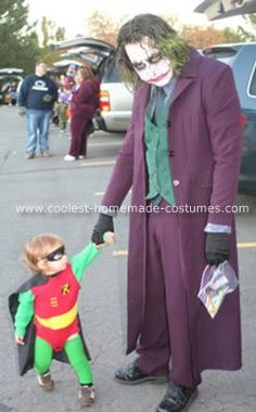 Homemade Joker Costume: This costume was of course inspired by the movie the Dark Knight, which I saw four times, two of which were in IMAX. The whole Joker process took two Super Hero Costumes, Cool Costumes, Costume Ideas, Halloween Costumes, Halloween 2014, Halloween Ideas, Joker Costume, Homemade Costumes, Nerdy Things