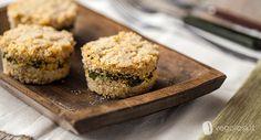 sformatini di quinoa (opp. miglio)