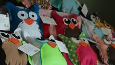 sewing birthday party projects | Kids Party ideas – No sew Owl Pillows tutorial