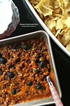 Cheesy Enchilada Dip recipe