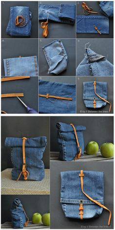 Evaluate Old Jeans Source by - Upcycling DIY .- Alte Jeans Source von auswerten – Upcycling DIY Ideen Evaluate Old Jeans Source by – Upcycling DIY Ideas # - Denim Crafts, Upcycled Crafts, Sewing Crafts, Sewing Projects, Sewing Diy, Diy Projects, Sewing Tutorials, Sewing Ideas, Diy Jeans