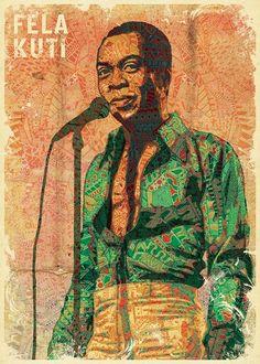 Amazig Fela Kuti a music legend
