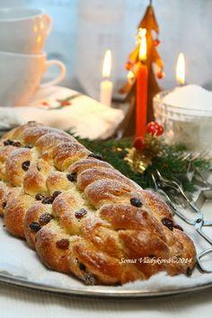 Slovak Recipes, Czech Recipes, Russian Recipes, Ethnic Recipes, Christmas Treats, Christmas Baking, Challa Bread, Slovakian Food, Y Recipe