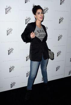 Pin for Later: Cette Soirée Organisée Par Stella McCartney a Presque Rivalisé le Starpower des Golden Globes Sarah Silverman