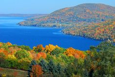Canandaigua Lake, the Finger Lakes NY
