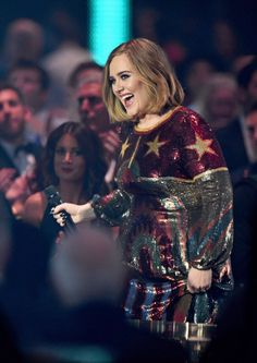 Adele at the 'BRIT Awards 2016'