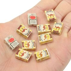 Random Miniature Dollhouse Mini Tobacco Cigarette Bar Room Home Store Decor #UnbrandedGeneric