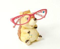 Hoggymoorf Eye Glass Holder Eyeglass Holder, Glass Holders, Biscuit, Charity, Hedgehog, Mom, Eyes, Glasses, Animals