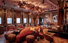 Brand van Egmond - Hotel TwentySeven Dam Amsterdam Zaha Hadid, Architecture Photo, Amazing Architecture, Porches, Restaurant Lighting, Community Space, Layout, Luxury Villa, Modern Interior Design
