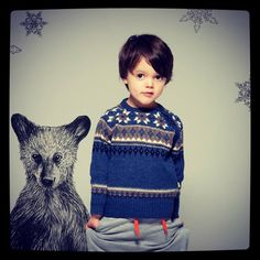circus mag: Little Mountains by iiS - Norwegian Knit Collection for Boys and Girls