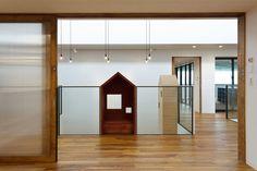 Hibino Sekkei and Youji no Shiro's kindergarten features house-shaped reading nooks