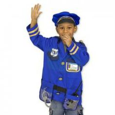 Police Officer Role Play Set by Melissa and Doug Shopkins, Kids Police Officer Costume, Police Officer Requirements, Pretend Play, Role Play, Melissa & Doug, Police Chief, Toddler Preschool, Cool Toys
