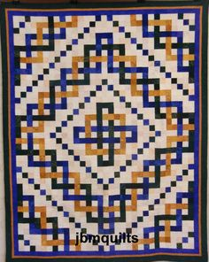 Image result for celtic weave quilt pattern Celtic Quilt, Optical Illusion Quilts, Celtic Patterns, Celtic Designs, Celtic Christmas, Quilt Patterns Free, Block Patterns, Free Pattern, Geometric Graphic