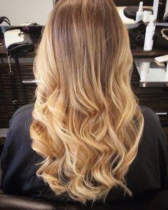 Love my hair! done in Selfridges Birmingham