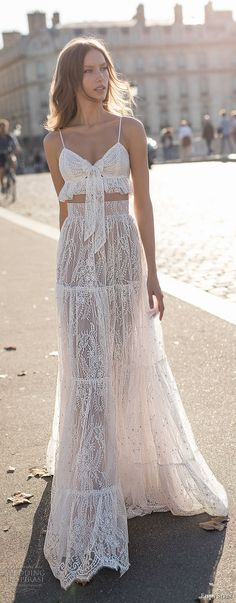 eisen stein 2018 bridal sleeveless spaghetti strap sweetheart neckline crop top full embellishment bohemian soft a line wedding dress sweep train (12) mv lv