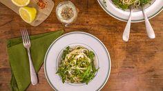Sicilian Lemon Spaghetti Paleo Recipes, New Recipes, Dinner Recipes, Cooking Recipes, Favorite Recipes, Yummy Recipes, Dinner Ideas, Lemon Spaghetti, Spaghetti Recipes