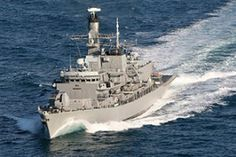 "FF-05 ""Almirante Cochrane"" Armada, Norfolk, Statue Of Liberty, Tower, Machine Guns, Boat, Navy, Chile, War"