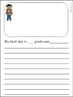 Countdown to Summer! Writing Journal. Up to one month of meaningful writing topics to see you through to the end of school. UPDATE: Now includes intermediate and primary-lined versions. http://www.teacherspayteachers.com/Product/End-of-the-Year-Count-Down-to-Summer-Writing-Journal    $