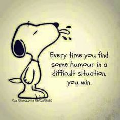 The numerous adventures of Snoopy and the Peanuts gang make up one of the best-known and most iconic comic strips in the world today. Schulz, the first Peanuts st Funny Motivational Quotes, Cute Quotes, Inspirational Funny, Winning Quotes, Winnie The Pooh Quotes, Snoopy Quotes, Humor Quotes, Wisdom Quotes, Book Lovers
