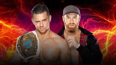 Intercontinental Champion The Miz vs. Sami Zayn