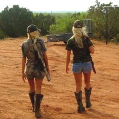 Dont be ashamed to be a girl and a hunter ... my dad taught me how to shoot for a reason