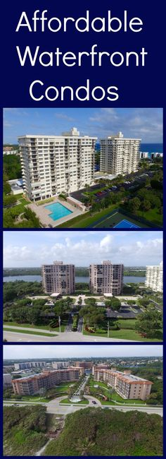 Three Boca Raton condominium communities can turn that dream into reality by providing affordable living to all. With an ideal location near the Intracoastal and the Atlantic Ocean, Waterfront condos at these prices are rare! CLICK the PIN to see affordable condos in Boca Raton