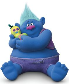 Biggie ~ a chubby, friendly troll Los Trolls, Trolls Birthday Party, Troll Party, Birthday Parties, Troll Costume, Costumes, Bon Film, Tv Tropes, Disney Drawings