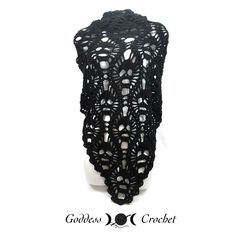Lost Souls Skull Shawl – Free Crochet Pattern Review