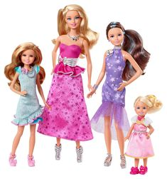 Amazon.com: Barbie and Her Sisters in a Pony Tale Gala Gown Giftset: Toys & Games
