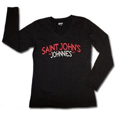 b567ab171 Women's V-Neck Long Sleeve T-Shirt available at the SJU bookstore.