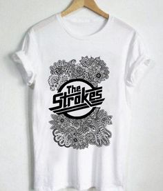 Unisex Premium Tshirt The Strokes Logo