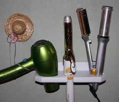 Hair Blow Dryer Curling Iron Brush Instyler by northwoodscrafts, $17.97