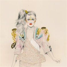 Natalia Sanabria is a contemporary fashion Illustrator.