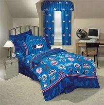 san diego padres denim comforter & sheet set combo   boys bedding