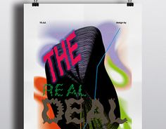 """Check out new work on my @Behance portfolio: """"The REAL deal poster project"""" http://be.net/gallery/54933881/The-REAL-deal-poster-project"""
