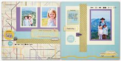 Love this layout Close to My Heart created using my pics and the new Wanderful paper collection!   jeanettelynton.com: Annual Inspirations Level 2 Artwork #ctmh