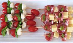 Brochettes apéritives : Diet & Délices - Recettes dietétiques