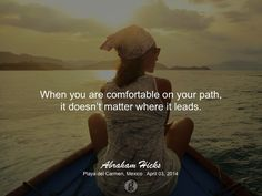 #abrahamhicks #you #comfortable