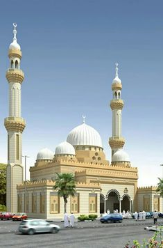 Beautiful mosque in UAE Mosque Architecture, Art And Architecture, Beautiful Mosques, Beautiful Places, Temples, Medina Mosque, Grand Mosque, Islamic World, Famous Places