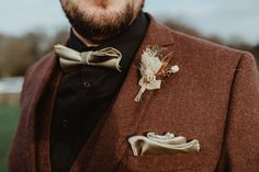 Soft Earthy Toned Wedding With DIY & Dried Flowers: Debs & James Our Wedding Day, Boho Wedding, Rustic Wedding, Mother Of The Groom Gifts, Unique Weddings, Real Weddings, Bride Shoes, Groom Style, Wedding Favours