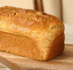 Wheat Free Bread made in Bread Machine (made with Pamela's Baking & Pancake Mix) low fodmap