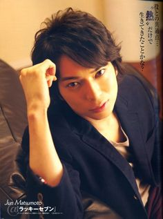 Jun Matsumoto from ARASHI