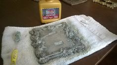 How to Restore Tarnished Metal using Brasso
